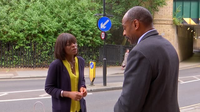 Report concludes use of force was justified ENGLAND London EXT Rod Charles set up shots with reporter / interview SOT