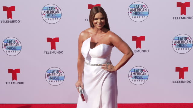 rashel diaz at the latin american music awards 2019 at dolby theatre on october 17 2019 in hollywood california - the dolby theatre video stock e b–roll