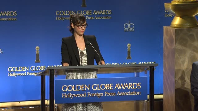 rashida jones announces the 18th annual screen actors guild awards nominations in west hollywood - nomination stock videos & royalty-free footage