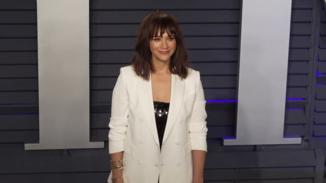 Rashida Jones at 2019 Vanity Fair Oscar Party Hosted By Radhika Jones at Wallis Annenberg Center for the Performing Arts on February 24 2019 in...