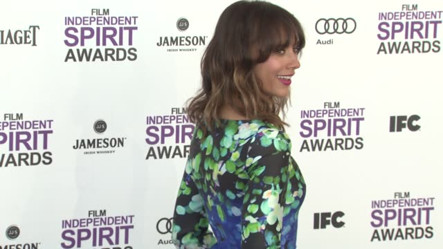 Rashida Jones at the 2012 Film Independent Spirit Awards Arrivals on 2/25/12 in Santa Monica CA