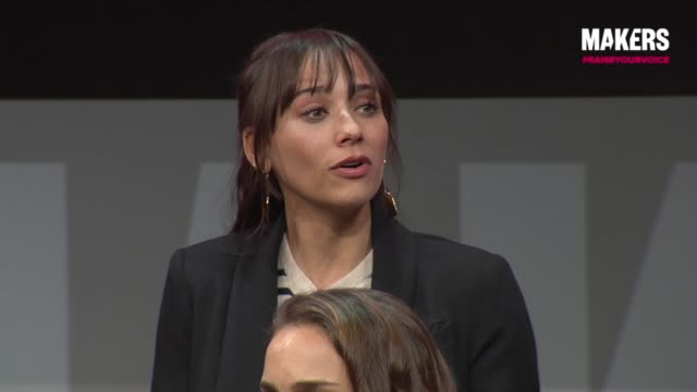 INTERVIEW Rashida Jones at The 2018 MAKERS Conference Day 1 at NeueHouse Hollywood on February 5 2018 in Los Angeles California