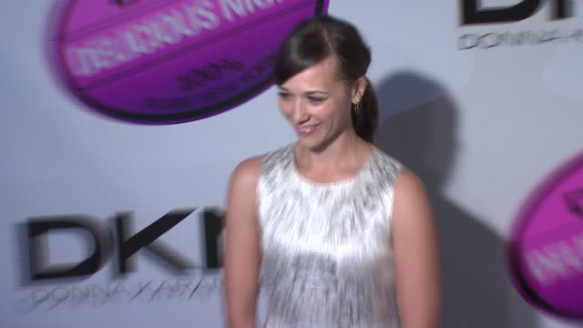 Rashida Jones at the DKNY Delicious Night Fragrance Launch Party at 711 Greenwich Street in New York New York on November 7 2007
