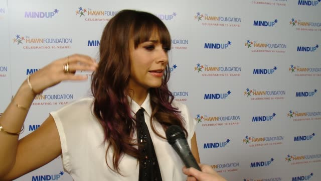 INTERVIEW Rashida Jones on the event at Goldie Hawn's Inaugural 'Love In For Kids' Benefitting The Hawn Foundation's MindUP Program Transforming...
