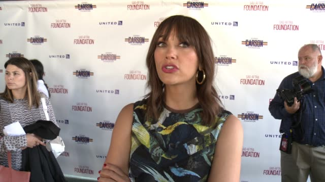INTERVIEW Rashida Jones on what it means to receive the Actors Inspiration Award from the SAGAFTRA Foundation the importance of having a foundation...