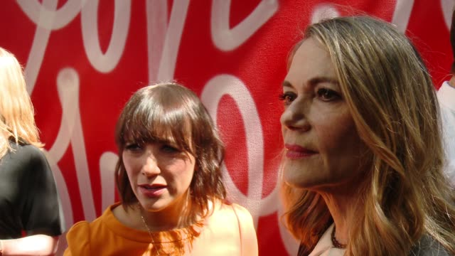 INTERVIEW Rashida Jones Peggy Lipton on why they wanted to help host Revlon's Philanthropic luncheon and what makes Revlon's commitment to women's...