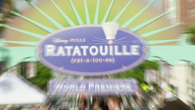 'Ratatouille' Marquee at the 'Ratatouille' Premiere at the Kodak Theatre in Hollywood California on June 22 2007