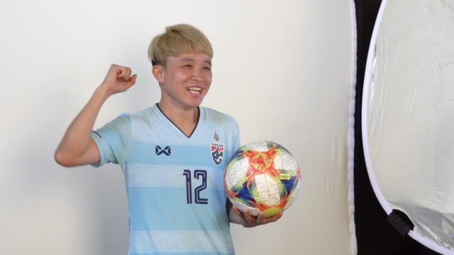 Rattikan Thongsombut at FIFA Women's World Cup France 2019 Team Portrait Session on June 08 2019 in Reims