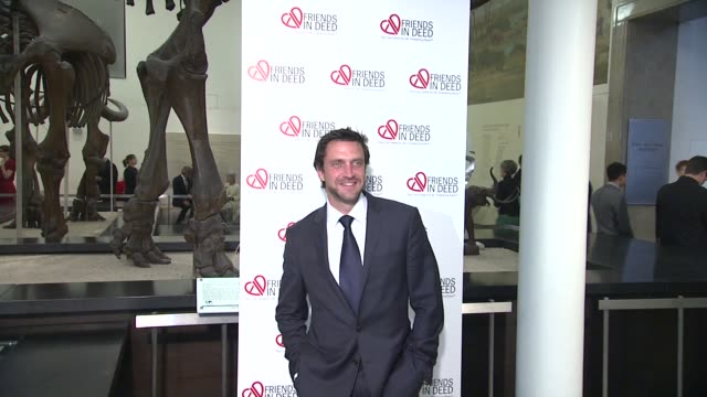 raul esparza at the a little jurassic treasure hunt - a 20th anniversary benefit celebrating 'friends in deed' at new york ny. - jurassic stock videos & royalty-free footage