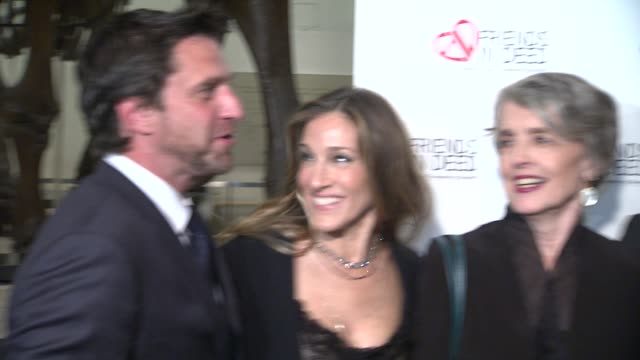 raul esparza sarah jessica parker cynthia o'neal and matthew broderick at the a little jurassic treasure hunt a 20th anniversary benefit celebrating... - cynthia parker stock videos & royalty-free footage