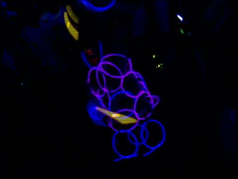rave during 'woodstock 99' in rome, new york - お祭り好き点の映像素材/bロール