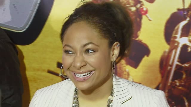 Raven Symone at the 'Wild Hogs' Premiere at the El Capitan Theatre in Hollywood California on February 27 2007