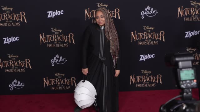 RavenSymoné at the The Nutcracker and the Four Realms World Premiere at Dolby Theatre on October 29 2018 in Hollywood California