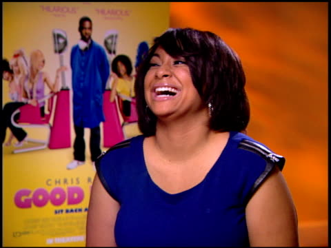 RavenSymoné on being upfront about her hair at the 'Good Hair' Junket at Beverly Hills CA