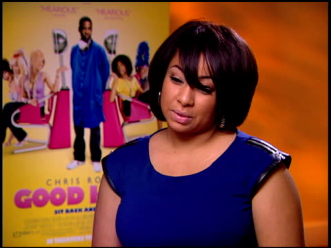 RavenSymoné on what surprised her most about the movie at the 'Good Hair' Junket at Beverly Hills CA