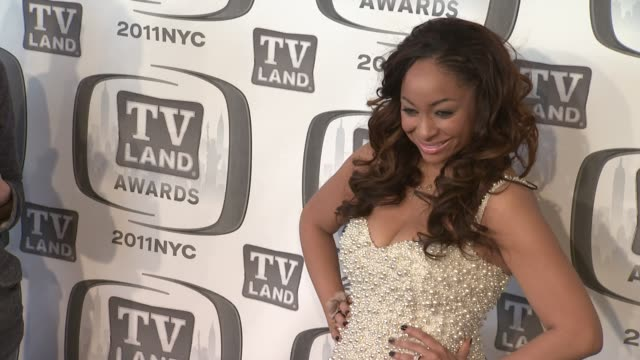 RavenSymone at the 9th Annual TV Land Awards Arrivals at New York NY