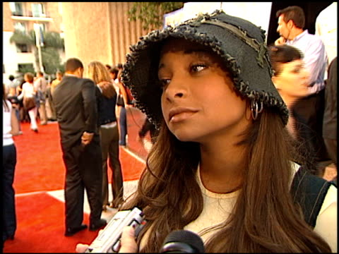 RavenSymone at the 'Dr Dolittle 2' Premiere at Avco Cinema in Westwood California on June 19 2001