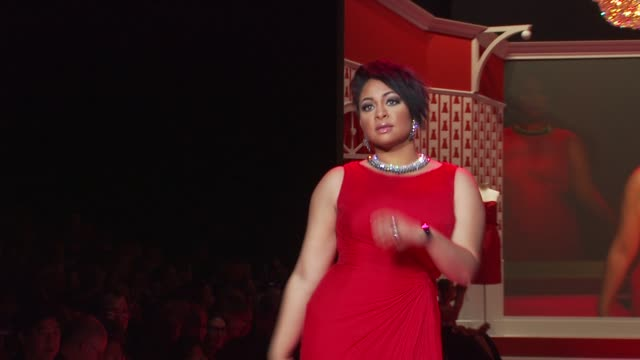 RavenSymone at the The Heart Truth's Red Dress Collection Fall 2010 MBFW at New York NY