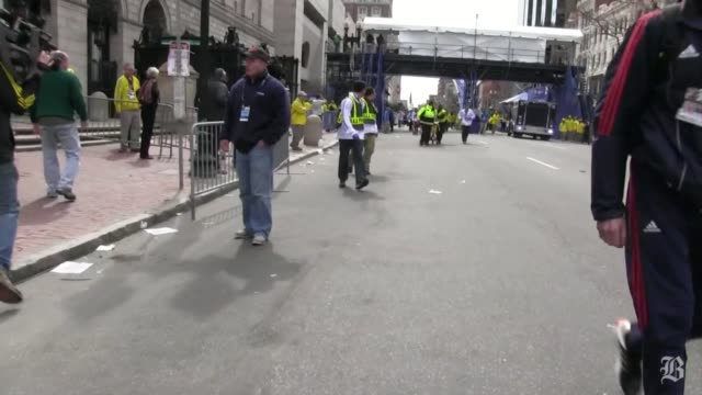 Raw Footage from Steve Silva of the Boston Marathon aftermath April 15 2013 in Boston Massachusetts