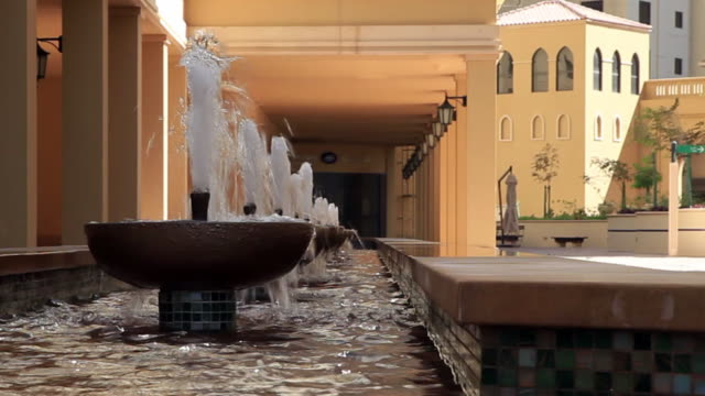 raw of fountains - palacio stock videos & royalty-free footage