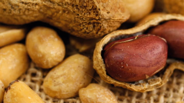 raw peanuts - peanut brittle stock videos & royalty-free footage