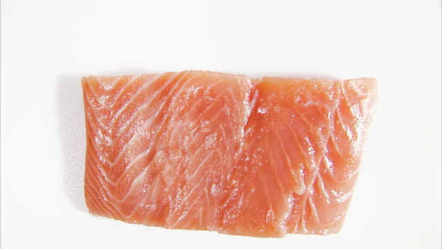 raw salmon. - scandinavian culture stock videos and b-roll footage