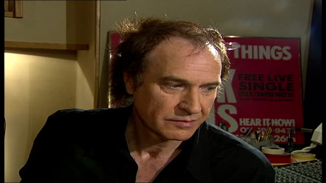 ray davies kinks songwriter and musician interview; tamzin sylvester asking question sot - do you think if you guys were starting out now as a new... - the kinks stock videos & royalty-free footage