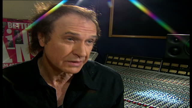 ray davies kinks songwriter and musician interview; tamzin sylvester asking question sot - you spent quite a bit of time in new orleans / they're... - the kinks stock videos & royalty-free footage