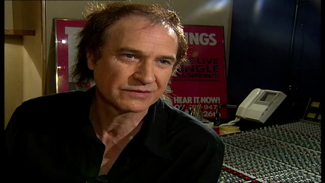 ray davies kinks songwriter and musician interview; tamzin sylvester asking question sot - are you going to feel quite self-conscious tonight? / i... - the kinks stock videos & royalty-free footage