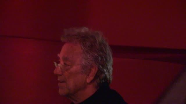 ray manzarek arrives at the mondrian hotel in west hollywood, 08/17/12 - モンドリアンホテル点の映像素材/bロール