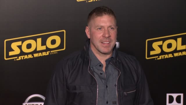 """ray park at the """"solo: a star wars story"""" world premiere at the el capitan theatre on may 10, 2018 in hollywood, california. - el capitan theatre stock videos & royalty-free footage"""