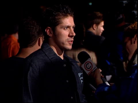 ray park at the 'tigerland' premiere at 20th century fox lot in century city, california on october 3, 2000. - tigerland点の映像素材/bロール