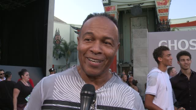 INTERVIEW Ray Parker Jr on what it means to have his movie premiere here at the iconic TCL Chinese Theatre on what it's like to have created a song...