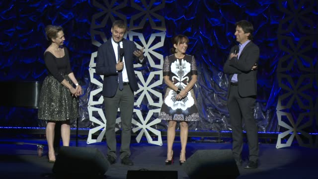 ray romano, phil rosenthal, patricia heaton, monica horan rosenthal at international myeloma foundation 7th annual comedy celebration benefiting the... - peter boyle stock videos & royalty-free footage