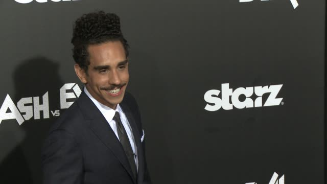Ray Santiago at the Ash Vs Evil Dead Los Angeles Premiere And Live Performance By Iggy Pop at TCL Chinese Theatre on October 28 2015 in Hollywood...