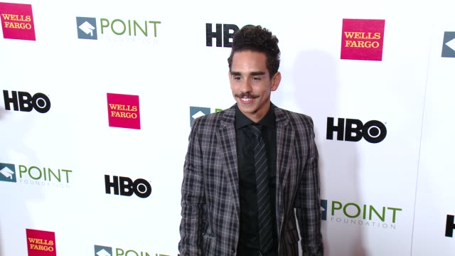 ray santiago at the point foundation's voices on point gala at the hyatt regency century plaza on october 03, 2015 in century city, california. - century plaza stock videos & royalty-free footage