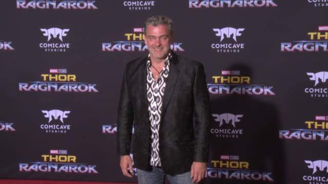 ray stevenson at the thor ragnarok premiere at the el capitan theatre on october 10 2017 in hollywood california - thor: ragnarok stock videos & royalty-free footage
