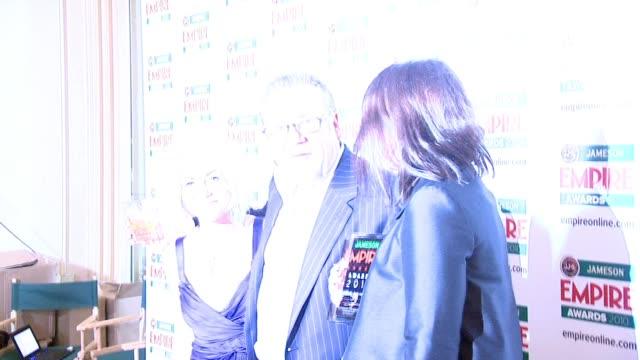 ray winston and jaime winstone at the jameson empire awards at london england - ray winstone stock videos & royalty-free footage