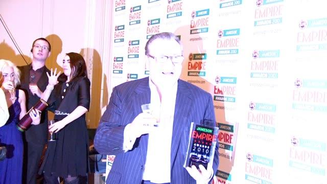 ray winston at the jameson empire awards at london england - ray winstone stock videos & royalty-free footage