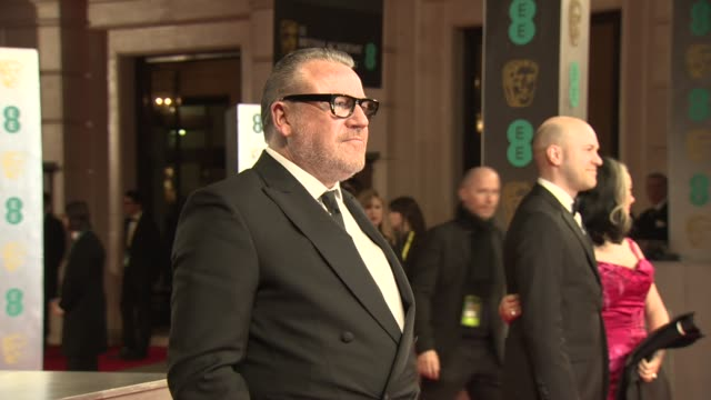 ray winstone at ee british academy film awards at the royal opera house on february 16 2014 in london united kingdom - ray winstone stock videos & royalty-free footage
