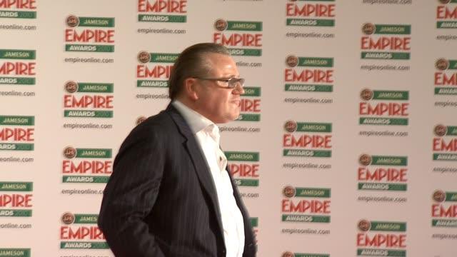 ray winstone at the jameson empire awards at london england - ray winstone stock videos & royalty-free footage