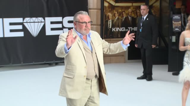 ray winstone at vue west end on september 12 2018 in london england - ray winstone stock videos & royalty-free footage