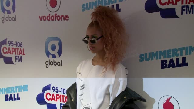 raye at wembley arena on june 10 2017 in london england - wembley arena stock videos & royalty-free footage