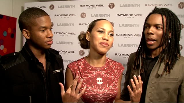 raymond weil and labrinth prebrit awards dinner england london raymond weil and labrinth prebrit awards dinner * warning interview with band 'cover... - audio software stock videos & royalty-free footage