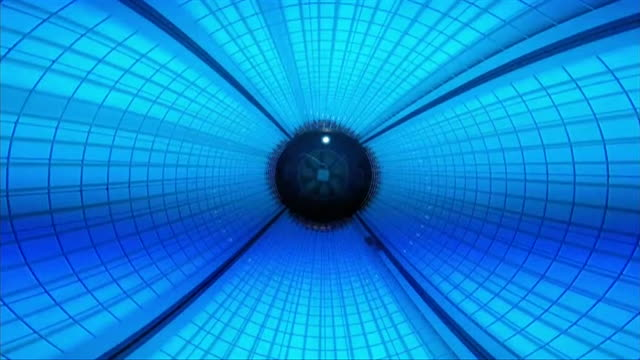 uv rays inside sunbed - luce ultravioletta video stock e b–roll