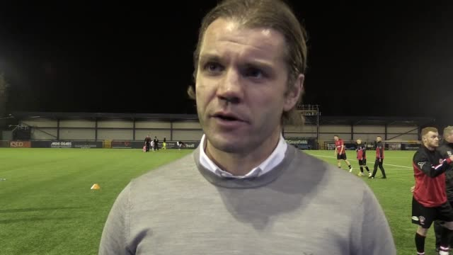 Reaction from MK Dons manager Robbie Neilson and Hyde United manager Darren Kelly following the Dons 40 away win to see them through to the second...