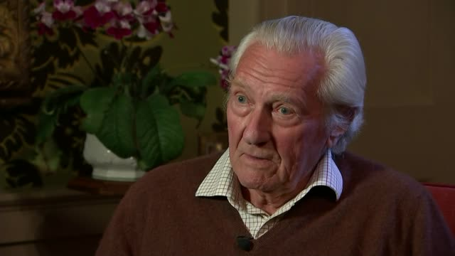 Reaction to Theresa May comments on leading the Conservative Party into the next general election Oxfordshire INT Lord Heseltine interview SOT Jacob...
