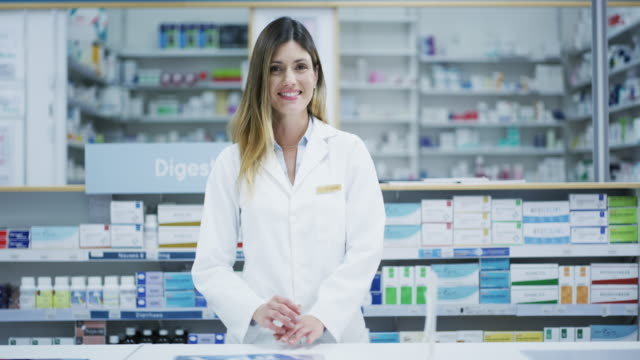 ready to make you feel better - pharmacy stock videos & royalty-free footage