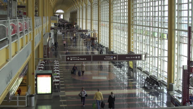 vidéos et rushes de reagan national airport - aéroport ronald reagan