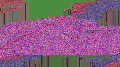 vídeos y material grabado en eventos de stock de real 4 k digital tv ruido - mensaje de error